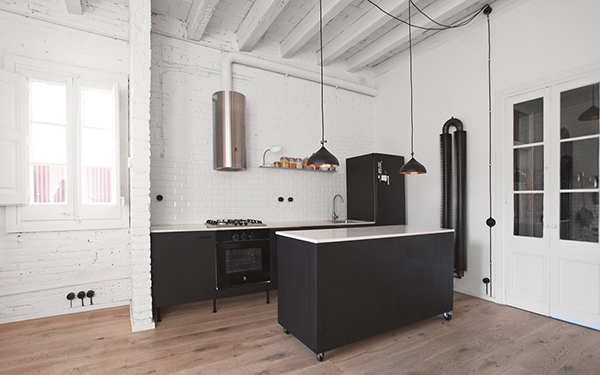 Cristina Prats Arquitectura Interiorismo Casa en Barcelona Gracia Instalaciones vistas