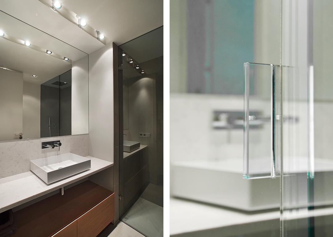 Cristina Prats Arquitectura Interiorismo Casa en Barcelona Baño Alape Griferia Tres