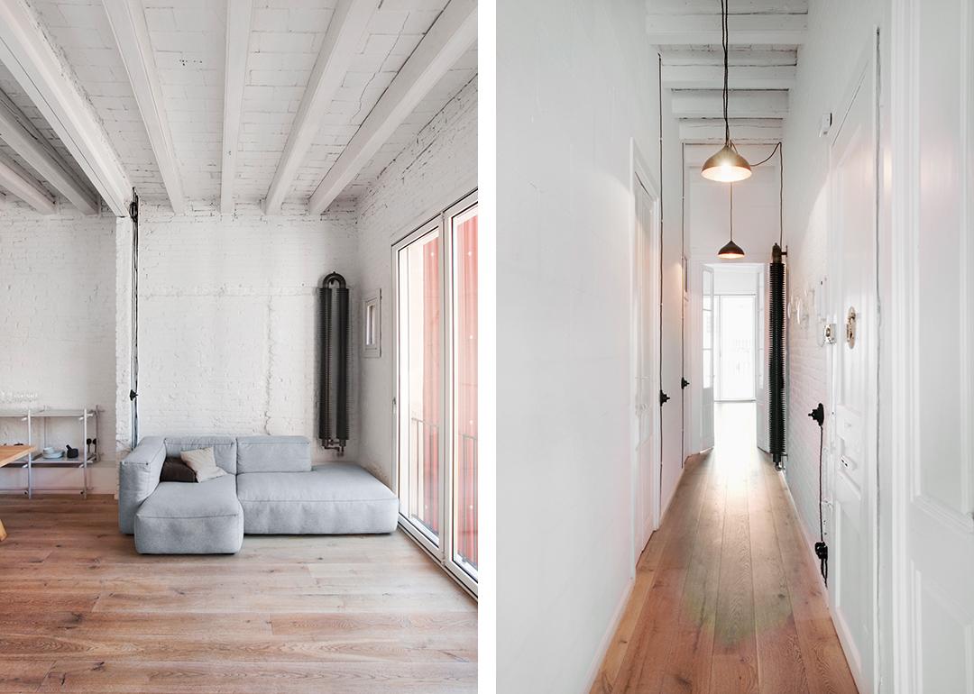 Cristina Prats Arquitectura Interiorismo Casa en Gràcia Barcelona Industrial Instalaciones vistas