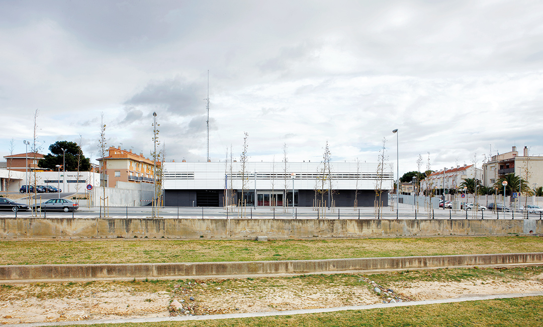 Cristina Prats Arquitectura Comissaria Mossos d'Esquadra Cambrils